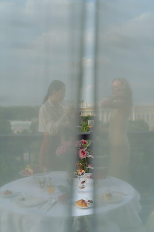 Kostenloses Stock Foto zu balkon, blick vom balkon, dämmerung