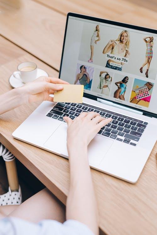 インターネット, オンライン, クレジットカードの無料の写真素材