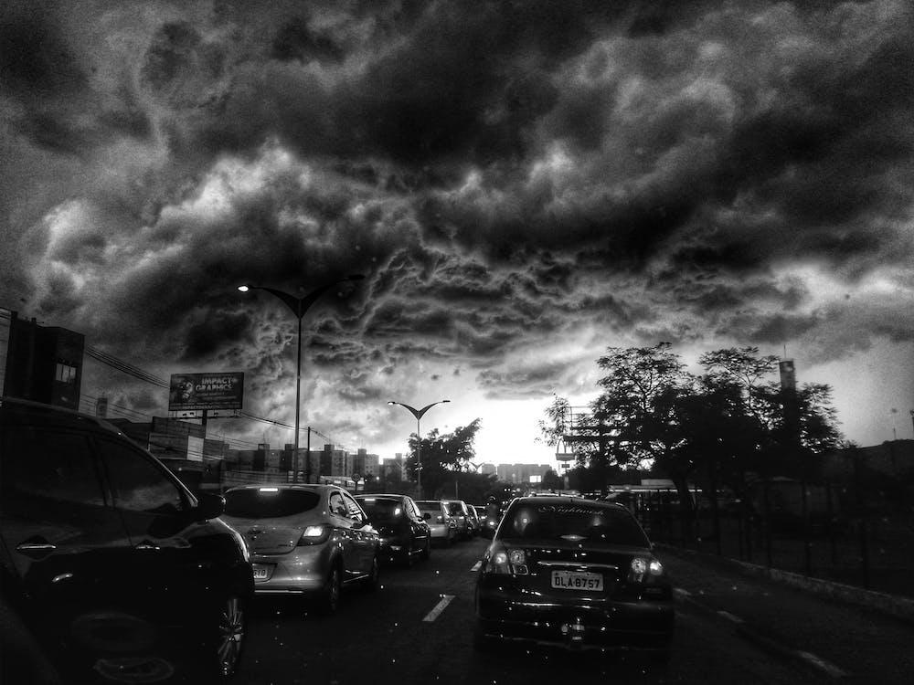 burza, mobilechallenge, niebo