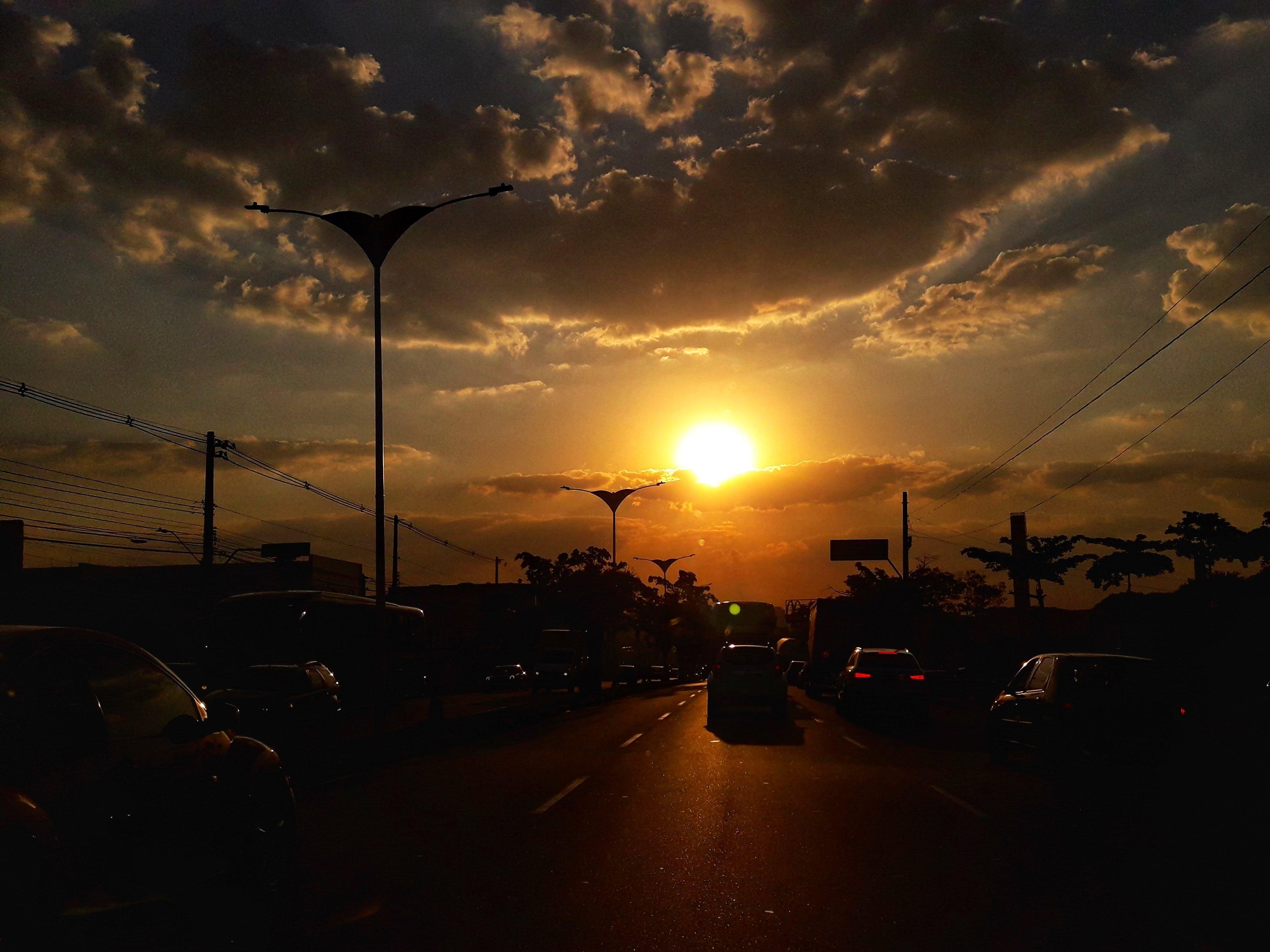 Free stock photo of #mobilechallenge, sunset