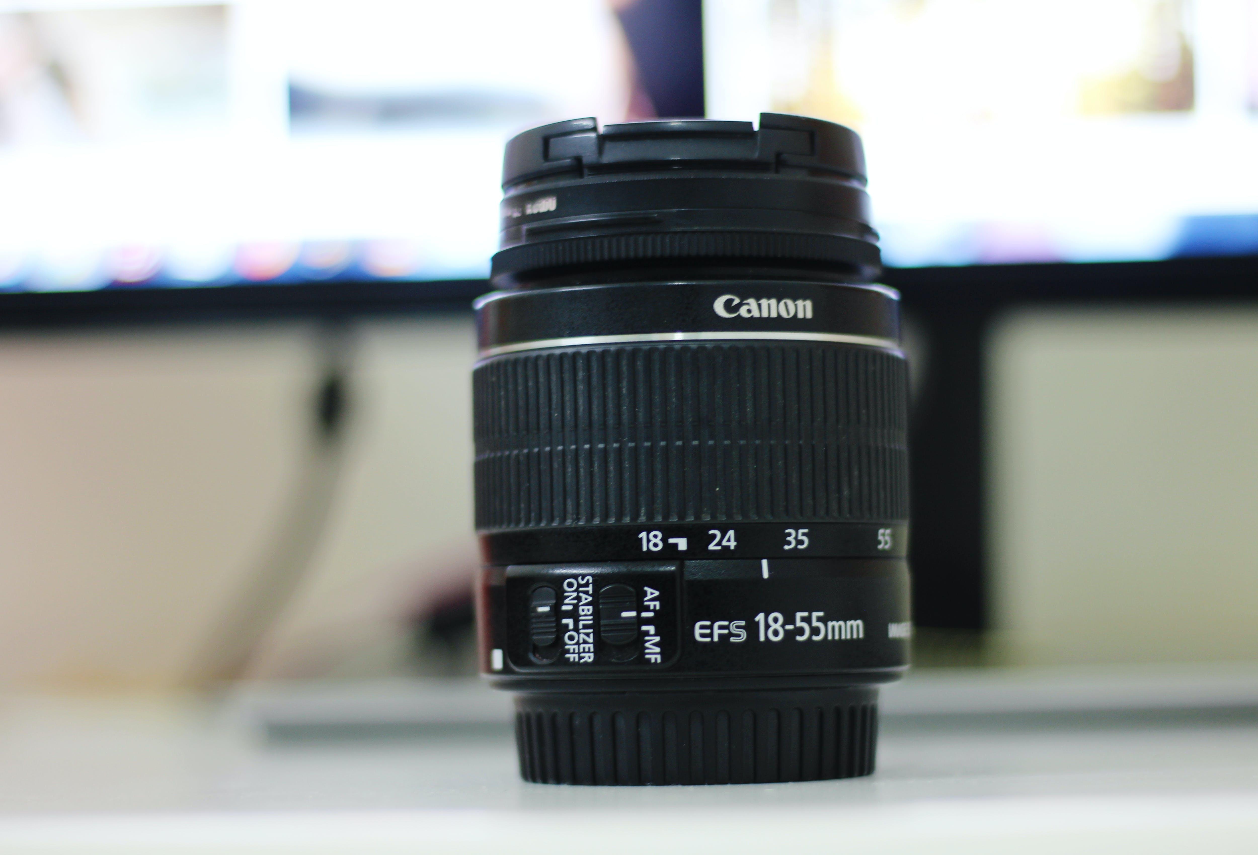 Fotobanka sbezplatnými fotkami na tému 18-55, Canon, fotka, fotografia