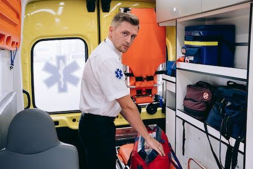 Free stock photo of aid, ambulance, assistance