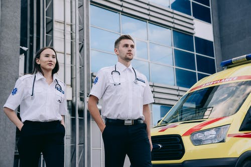 A Male and Female Paramedic