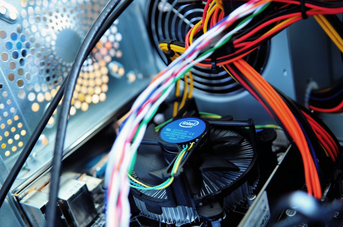 Close Up Photography of Computer Cooler