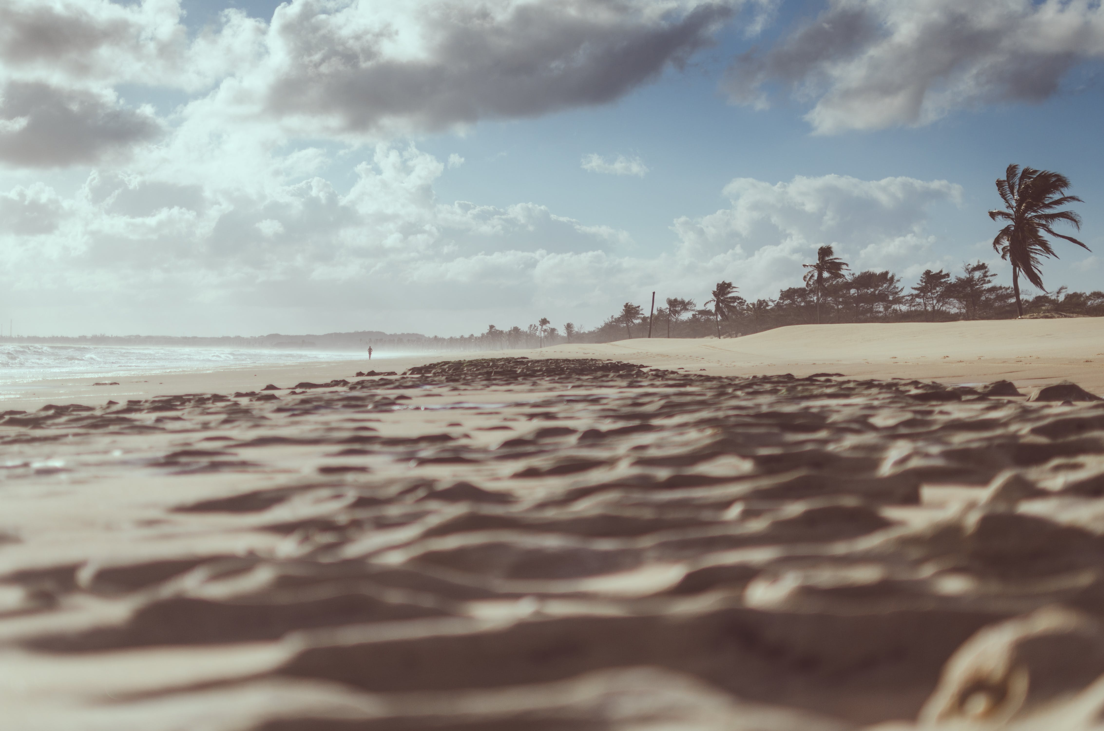 Brown Sands Under Blue Skies Photography