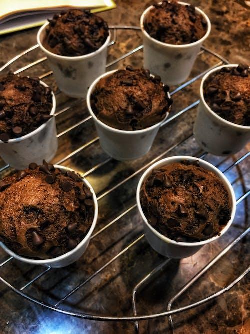 Бесплатное стоковое фото с chocochips, вкусный, выпечка, гриль