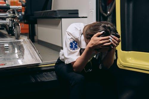 Kostnadsfri bild av ambulans, arbete, barn