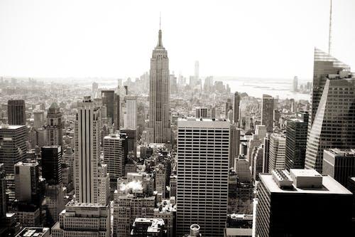 CC0, シティ, ニューヨーク, モノクロームの無料の写真素材
