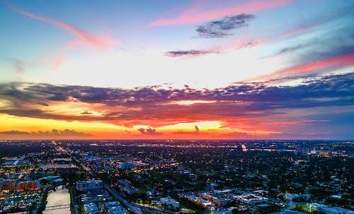 Безкоштовне стокове фото на тему «архітектури. місто, гарний захід сонця, захід сонця»