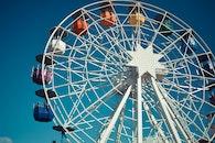amusement park, ferris wheel, fun