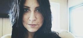 woman, eyes, portrait