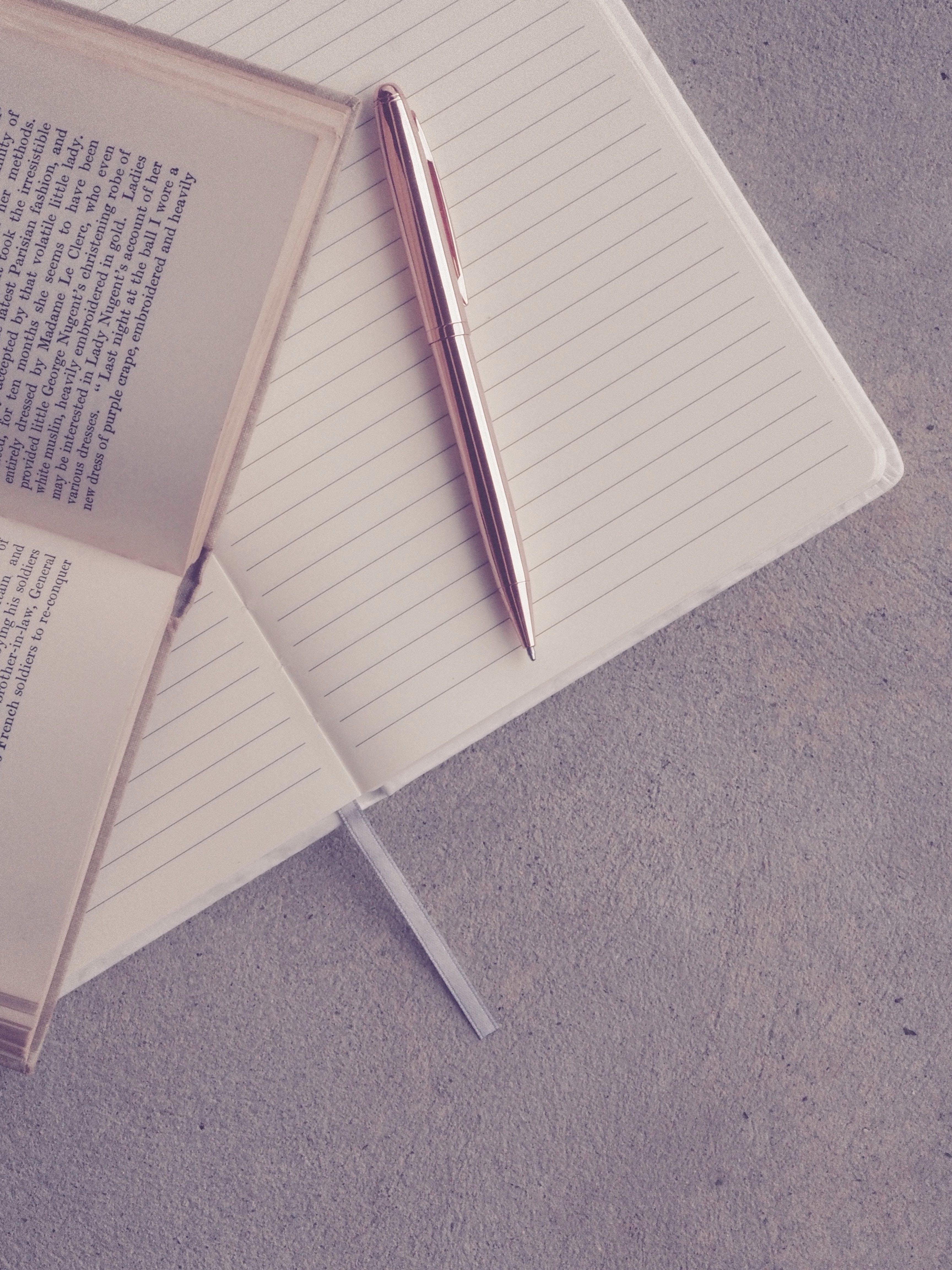 คลังภาพถ่ายฟรี ของ ปากกา, ม็อกอัป, หน้า, แฟลตเลย์