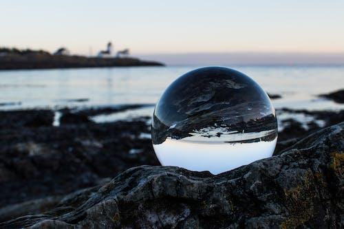 Foto profissional grátis de água, céu, cristal, mar