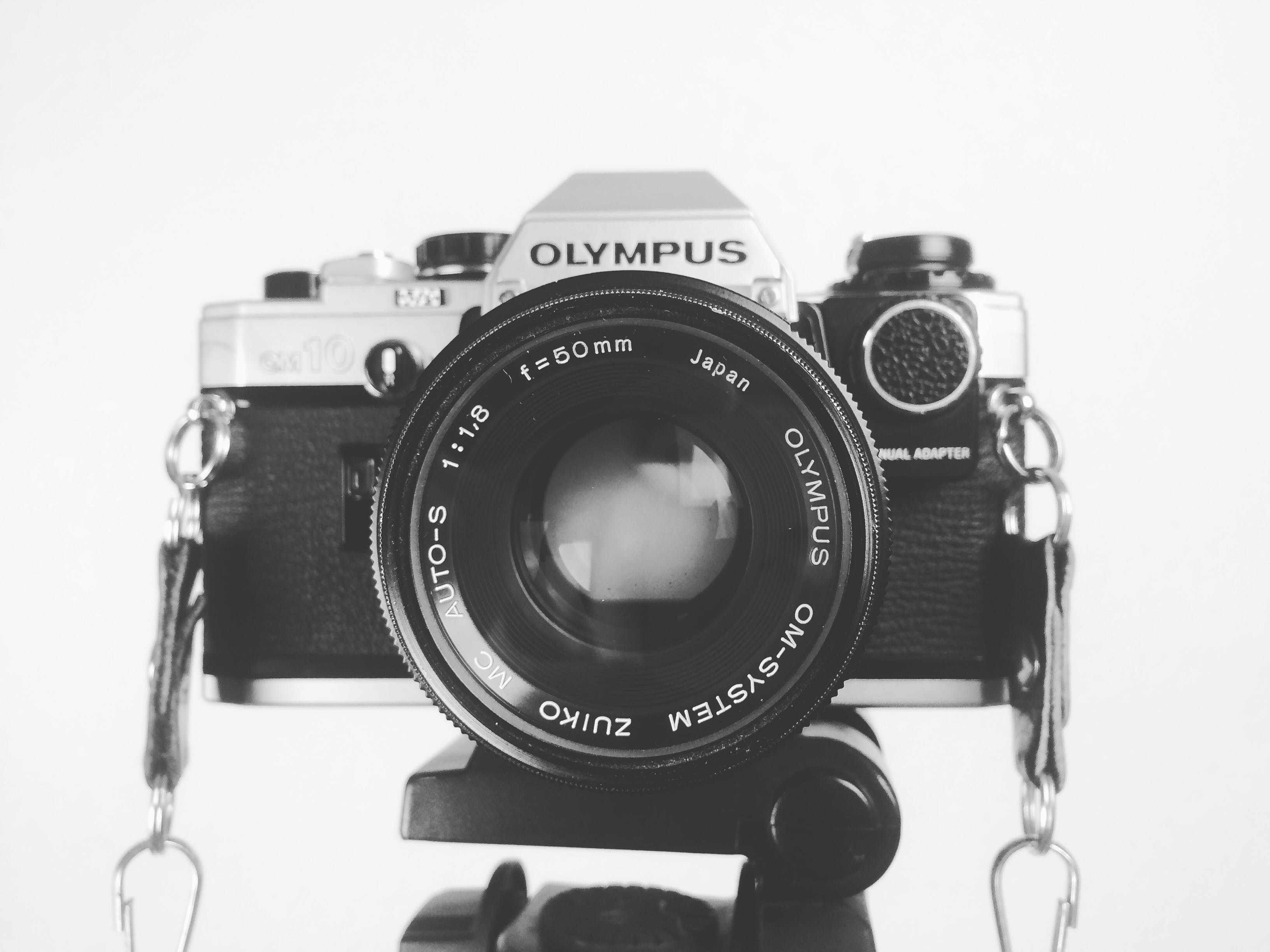 Black and Grey Olympus Body Camera
