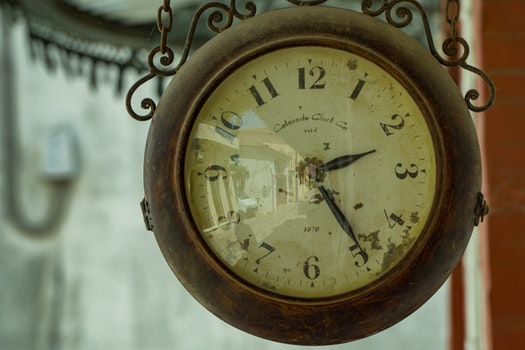 Free stock photo of vintage, blur, numbers, time