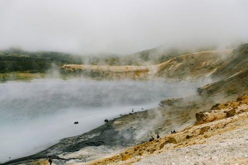Ilmainen kuvapankkikuva tunnisteilla geoterminen, Geysir, höyry