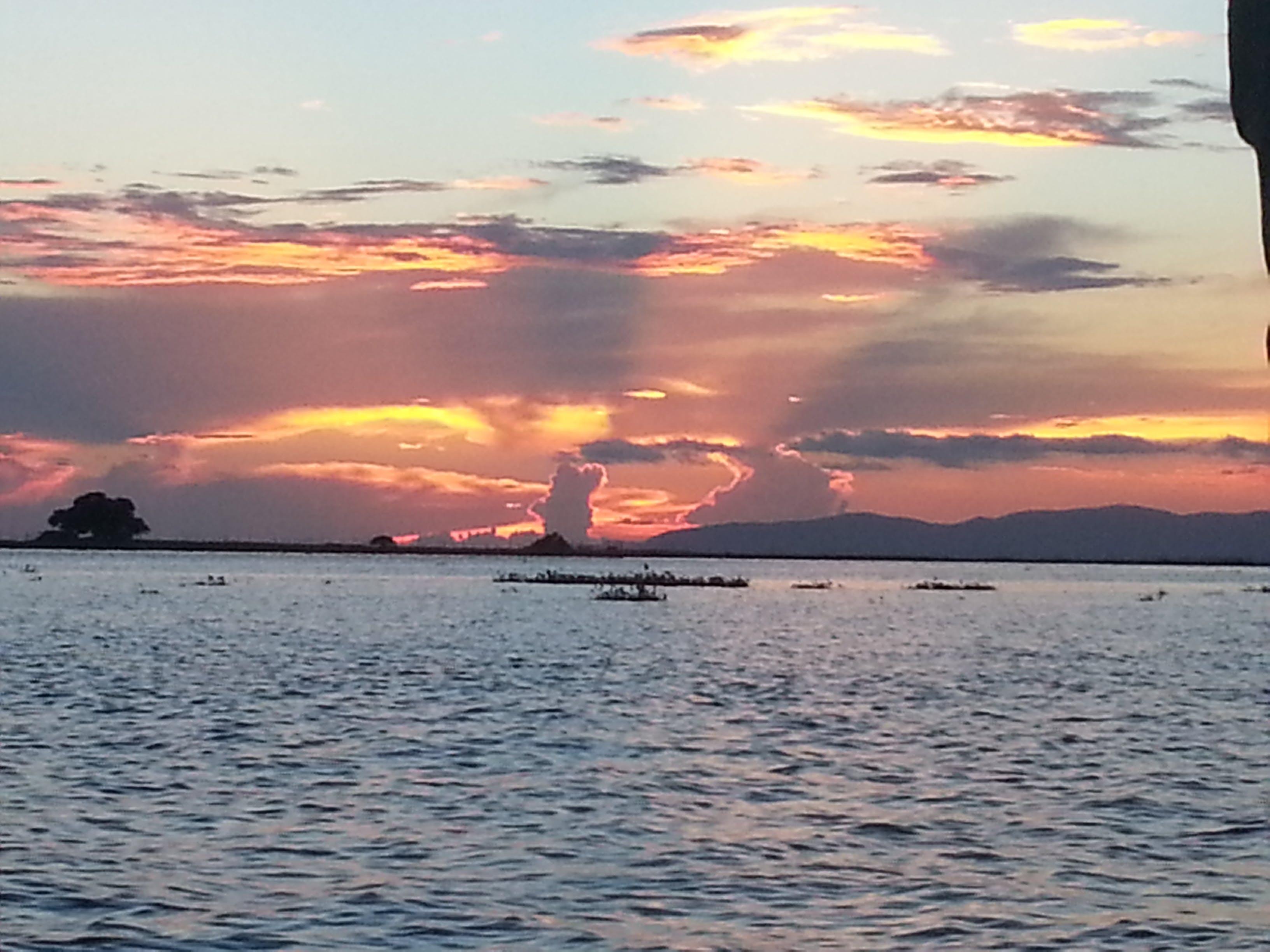Free stock photo of Sunset at Chilika Lake