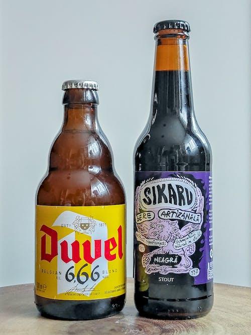Free stock photo of beer bottles, belgian blond, bere