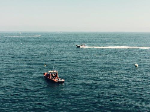ウォータークラフト, ボート, 交通機関, 地平線の無料の写真素材