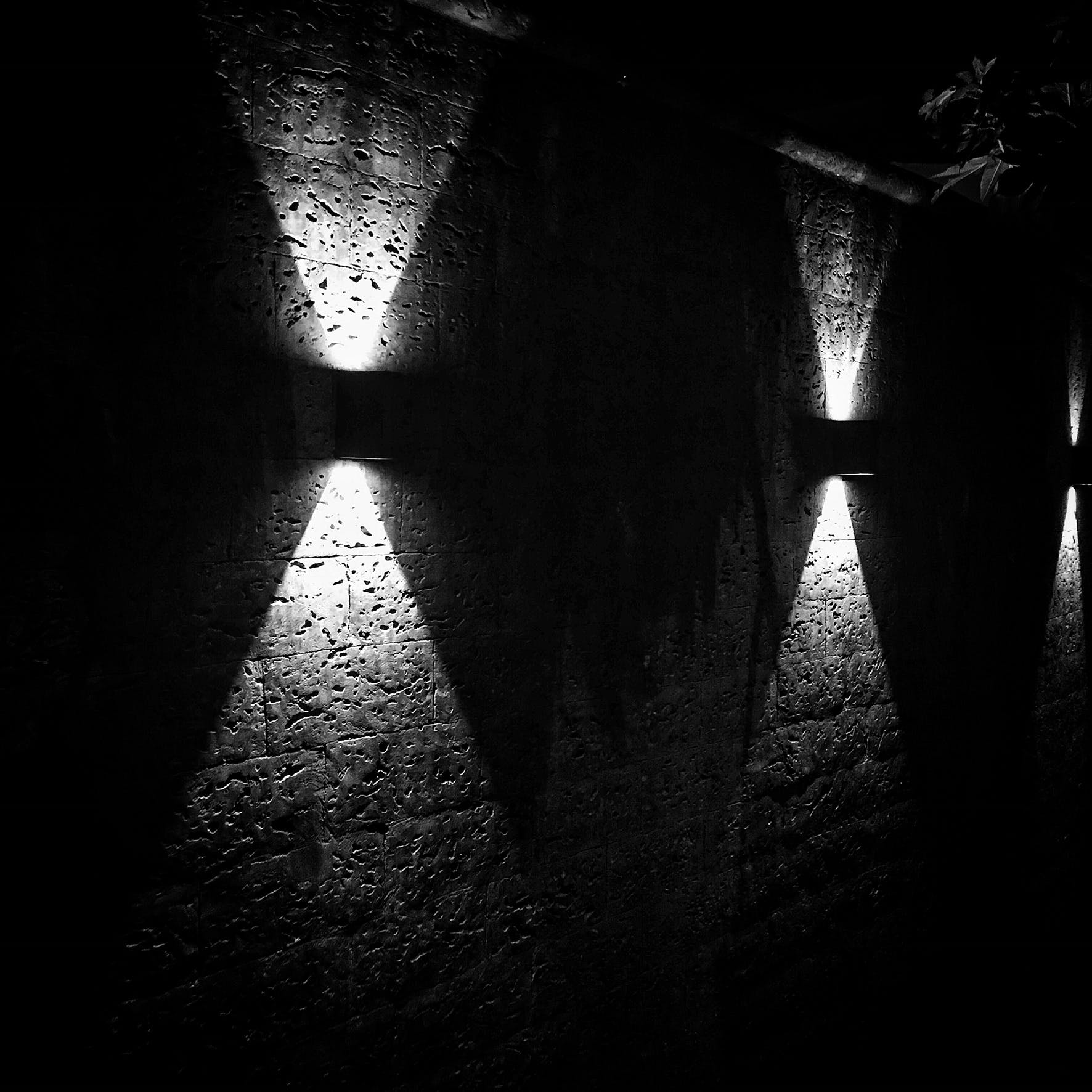 Free stock photo of black and white, lights, monochrome, shadows