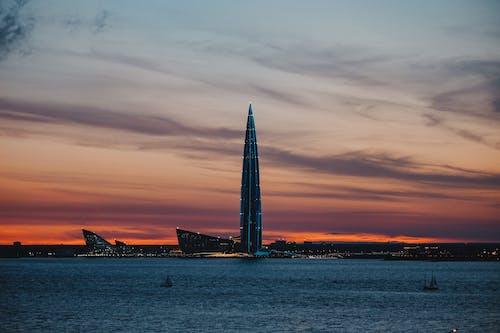 Бесплатное стоковое фото с архитектура, башня, восход