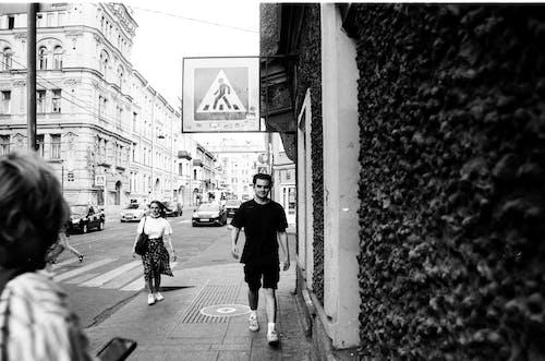 거리, 걷기, 남자의 무료 스톡 사진