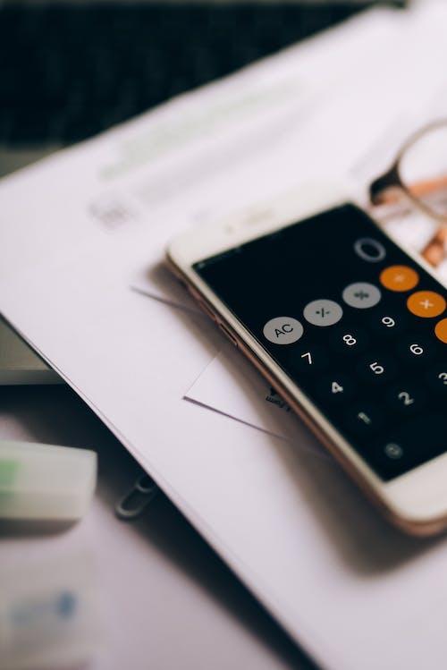 Darmowe zdjęcie z galerii z biznes, elektronika, kalkulator
