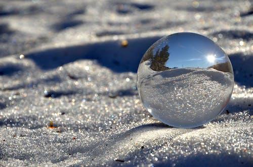esfera, nieve酒店, reflejo 的 免费素材照片