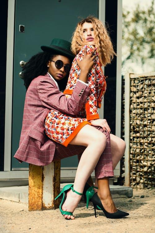 Ingyenes stockfotó divat, emberek, fekete lány, kültéri kihívás témában