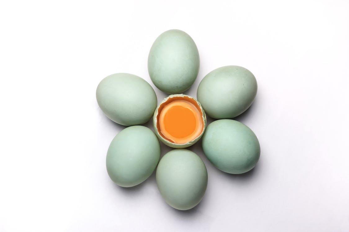 Seven White Eggs