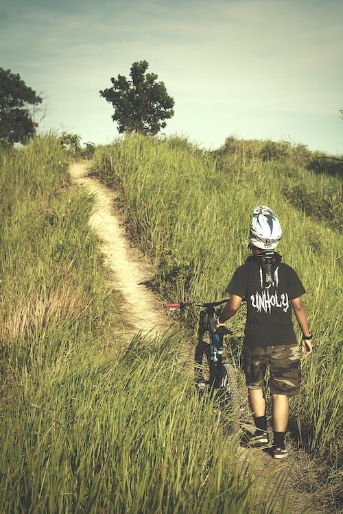 fahrer, fahrrad, fahrradfahren