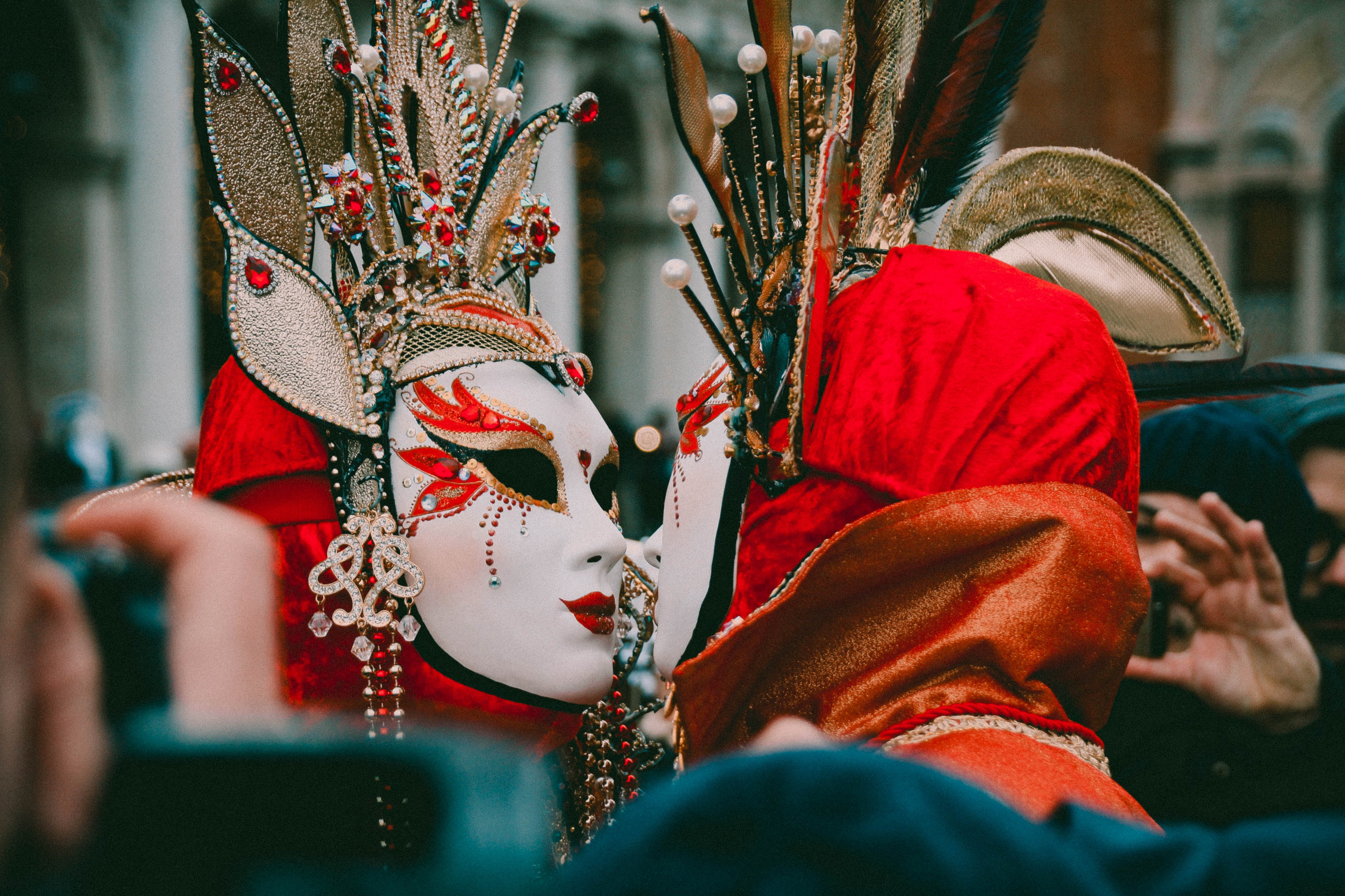 Free stock photo of carnival, colorful, couple, festival