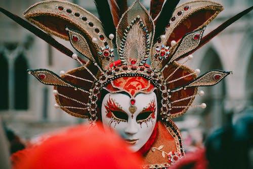 Kostnadsfri bild av ha på sig, huvudbonad, kostym, mask