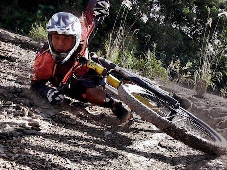 Is 350 F Sport >> Person Riding Bike Making Trek on Thin Air · Free Stock Photo