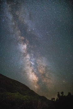 Free stock photo of night, galaxy, milky way, stars