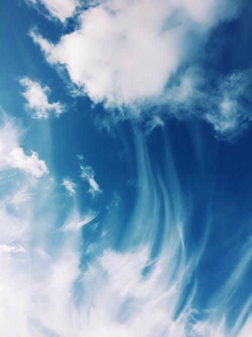 atmosfer, bulut görünümü, bulutlar, cennet içeren Ücretsiz stok fotoğraf