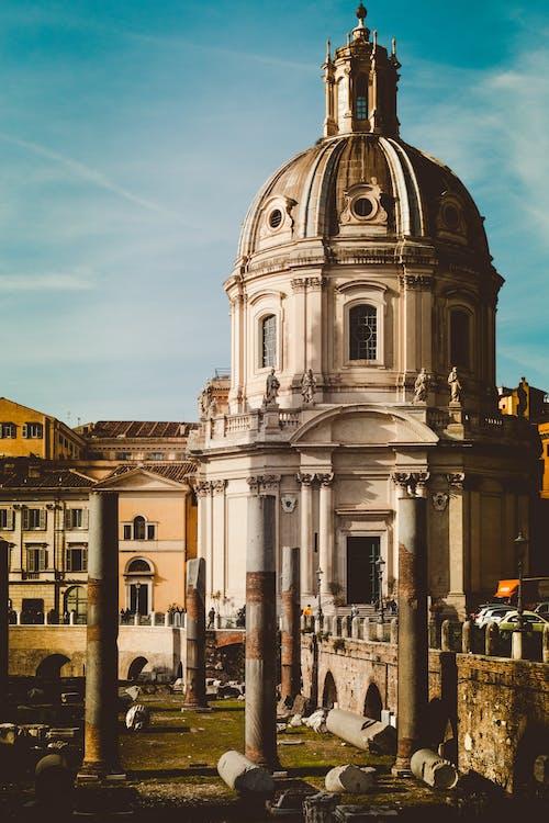 Fotos de stock gratuitas de arquitectura, bóveda, catedral, columnas