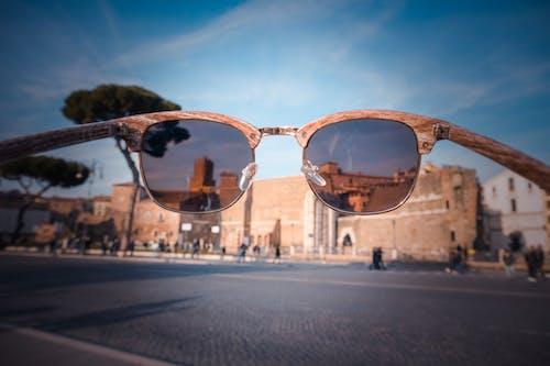거리, 건축, 도로, 선글라스의 무료 스톡 사진