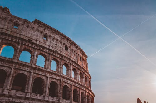 Low-angle Photo of Coliseum, Rome