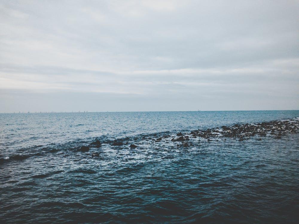 água, cenário, cênico