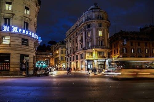Безкоштовне стокове фото на тему «архітектура, будівлі, вечір, Вулиця»