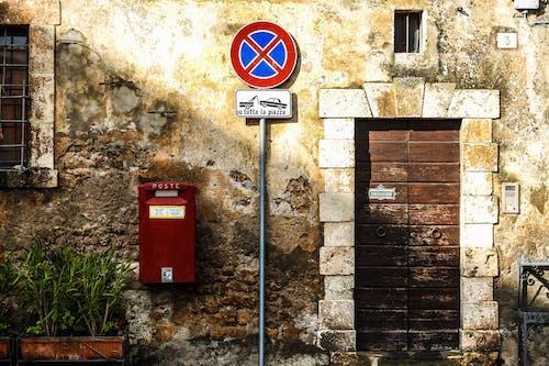 bağbozumu, bina, bitki, duvar içeren Ücretsiz stok fotoğraf