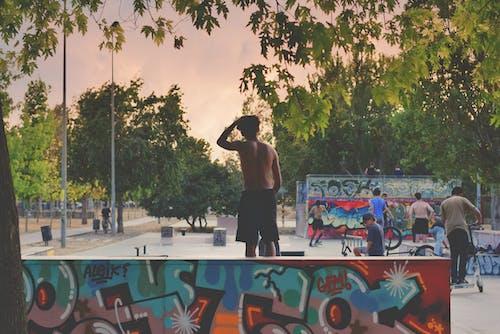 거리, 공연, 공원의 무료 스톡 사진