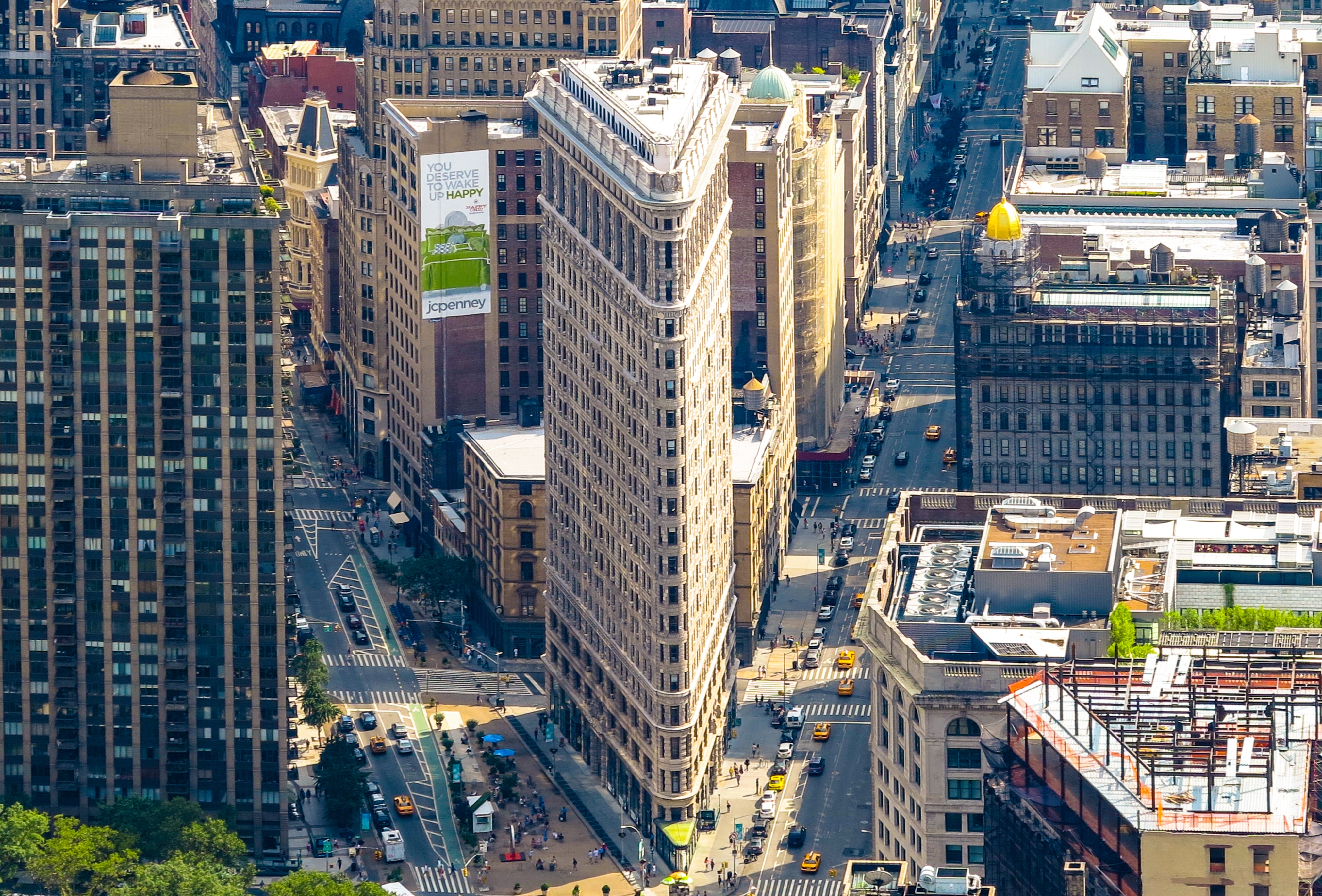 Aerial Photo Of Buildings Free Stock Photo