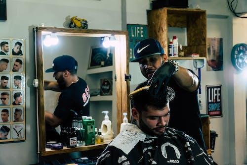 Fotobanka sbezplatnými fotkami na tému holič, muž, muži