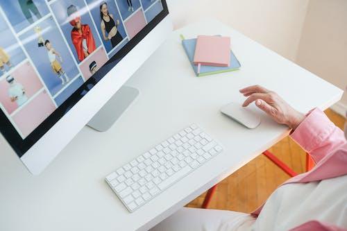 Immagine gratuita di banco, computer, connessione