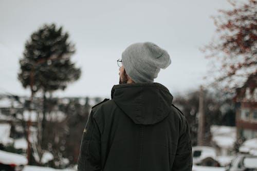 감기, 겨울, 까마귀 재킷의 무료 스톡 사진