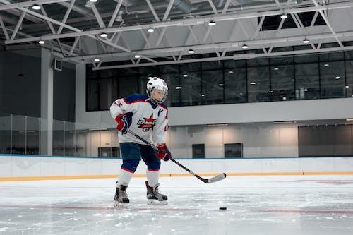 Foto stok gratis arena es, atlet, dewasa