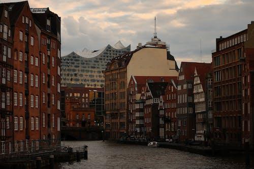 Free stock photo of apartment, architecture, bridge