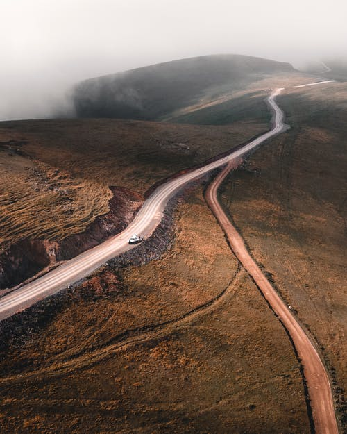 Free stock photo of canyon, car, dawn